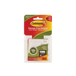 "Commandâ""¢ Small/Medium Picture Hanging Strips 17203"