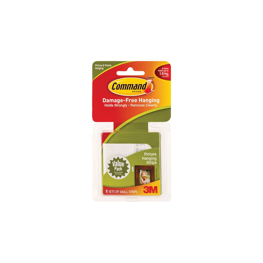 Command Small Picture Hanging Strips 17205 Rokset