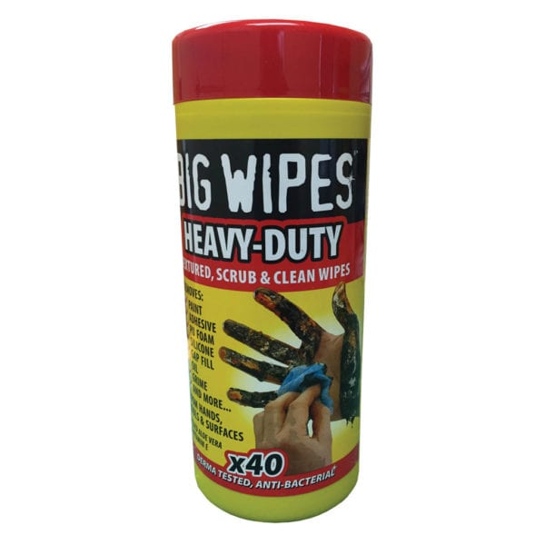 HEAVY DUTY 40 WIPE TUBS