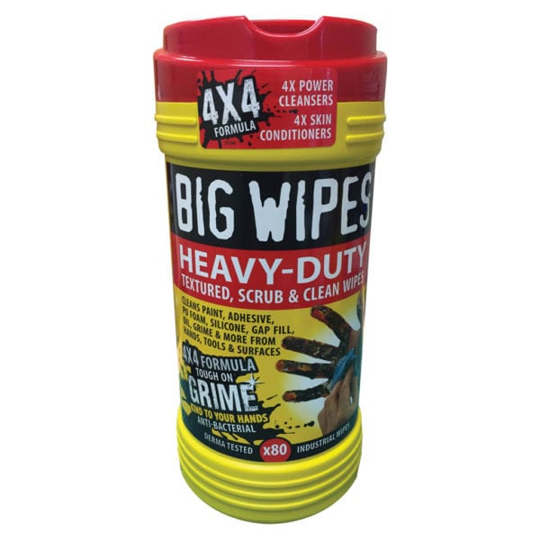 HEAVY DUTY 80 WIPE TUBS