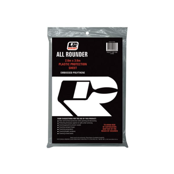 ALL ROUNDER PLASTIC PROTECTION SHEET (MOQ Only)