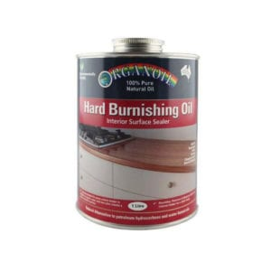 HARD BURNISHING OIL 10LT