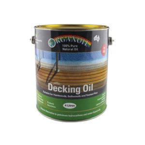 DECKING OIL JARRAH 10LT