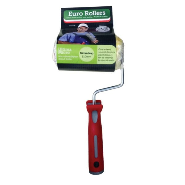 ULTIMA MICRO 16 110MM ROLLER COMPLETE - MICROFIBRE AND NYLON BLEND ROLLER